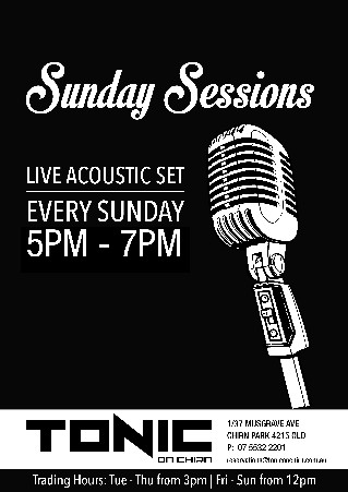 Sunday Sessions 5-7pm