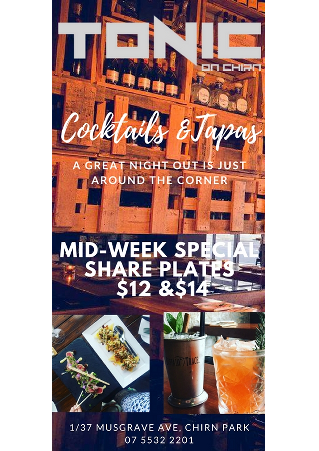 $12 and $14 Share Plates Every Tuesday and Wednesday